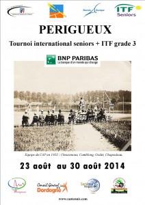 affiche  Open BNP Paribas seniors+