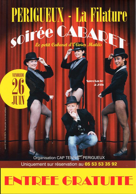 flyer soirée cabaret 2015 entrée gratuite